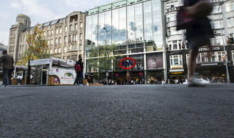 The Diamant Palace on Wenceslas Square was bought by Canadians