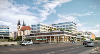 Introducing the developer project of CPI Property Group: Bubenská 1