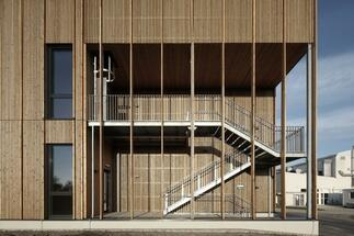 Inspiration: DELTA has designed an administrative and laboratory building entirely made of wood
