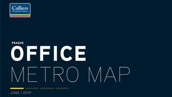 Colliers International is the third edition of Office Space Maps at Metro Stations