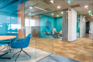 How are office spaces changing in the post-covid period?
