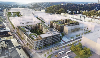 The largest development project in Prague is starting. A new district with a kilometer-long boulevard will be built in Smíchov